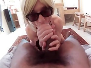 Fabulous Homemade Shemale record with Blonde, POV scenes