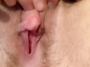 Transguy jerks then fingers his wet pussy - transgender FTM F2M transsexual