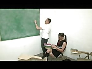 school beauty ladyboy doing hot ballbusting