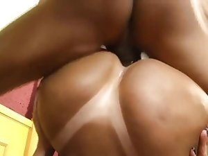 Gorgeous Fat Ass Brazilian Takes Cock