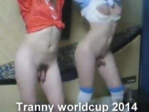 The Tranny worldcup 2014 is here with Nikki